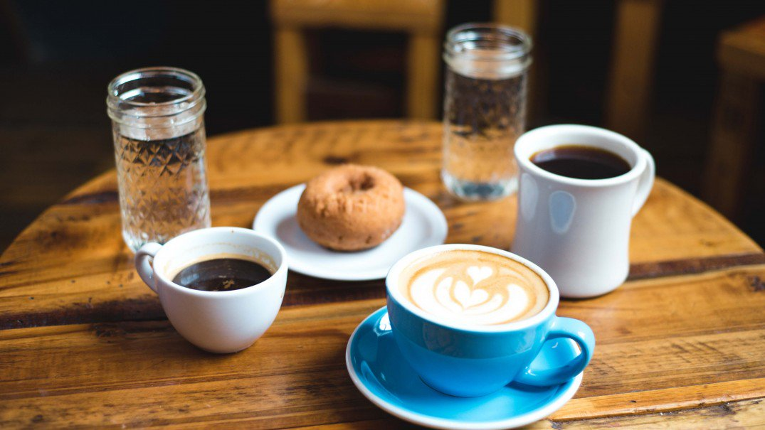 Food and Coffee that make employees happy